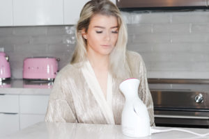 DIY At-Home Facial, Panasonic Nano Facial Steamer